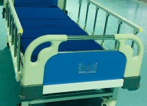 Medical beds 2 powder coated iron crank.